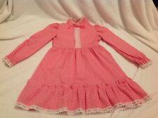 Vtg 1980s Little Rascals Girls Ruffled Dress Sash The Bay Hudson's HBC Sz 6x