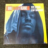 "Big Daddy Kane - Very Special / Stop Shammin' - Promo 12"" Single - Reprise 1993"