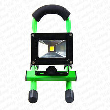 5 Colours LED Floodlight Work Rechargeable 10/20/30W Light Outdoor Cool White