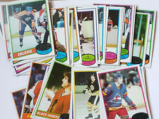 1980-81 TOPPS HOCKEY TRADING CARDS YOU PICK MULTI CARD DISCOUNT