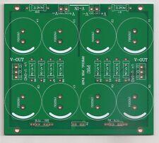 Power supply PCB for DIY First Watt class A Power amplifiers !
