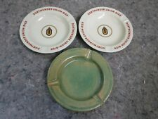Pair of Dortmunder Union Bier Beer Adverting Ashtrays & Another