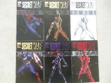Lot of 6 comics Secret War 2004 1st app Daisy Johnson Quake Wolverine Spider-Man