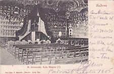 PADOVA - R.Università - Aula Magna 1905