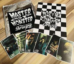 Dir en grey [MASTER OF MONSTER] pamphlet + postcardset 2002