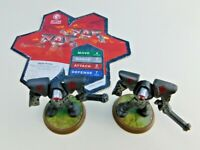 Heroscape Rise of the 2 Valkyriezettian Guards + Card