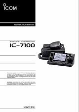 Highest Quality ~ Icom IC 7100   Operating Manual