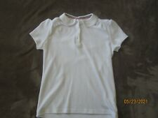 Euc French Toast Girls Lot of (2) School Uniform Polo Shirts Size L 10-12 White