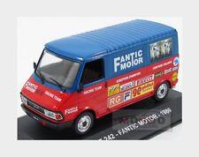 Fiat 242 Van 1980 Fantic Motor Red Blue Edicola 1:43 VPDC070 Model