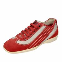 chaussures homme TOD'S - 39,5 EU - sneakers rouge daim DT803