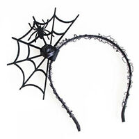 Halloween Cosplay Spider Hair Hoop-New Trendy Spiders Web Headband Headdre N9E9