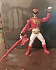 Bandai 2012 Mega Force Power Rangers Action Figure Red Swords Move