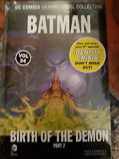 DC GRAPHIC NOVEL BATMAN BIRTH OF THE DEMON PART 2 VOL 34- NEW AND SEALED