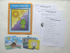 Evan Moor Science Center Learning Resource Game Sunlight to Night-light