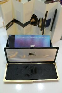 Vintage Montblanc Pen Case & Sleeve & Papers & Warranty Card  #2