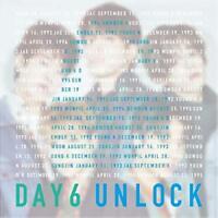 DAY6-UNLOCK-JAPAN CD+DVD+BOOK Ltd/Ed