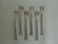AUSTERNGABELN - JUGENDSTIL - ART DECO - GEBR. HEPP 90 - 6 Stück - 90iger Silber