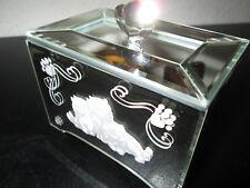 Spieluhr von The Bradford Exchange.Spiegelglas Katzen Design SELTEN UNGEBRAUCHT