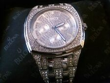 Men's Swarovski Crystal Bulova Watch