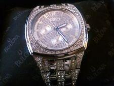 Men's Swarovski Crystal Bulova Watch
