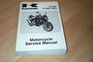 Z1000 Kawasaki Motorcycle Repair Manuals Literature For Sale Ebay