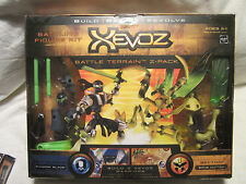 xevoz BATALLA terreno Pack de 2 SHADOW Hoja VS Bone cizalla NUEVO