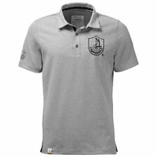 NEW OFFICIAL Campagnolo Classic Cycling Polo Shirt Grey LARGE