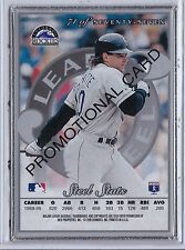 1996 Leaf Steel Silver Promo Dante Bichette #71 Promotional Sample