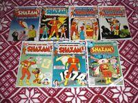 SHAZAM  NO.2 - NO11  & NO.31 VF 1973-74 DC  COMICS  *CAPTAIN MARVEL* WOW *LQQK *