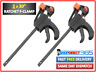 """2 x 760mm 30"""" Wood Working Bar F Clamp Clamps Grip Ratchet Quick Release Squeeze"""