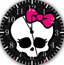 Monster High Frameless Borderless Wall Clock Nice For Gifts or Decor W01