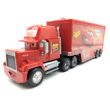 MT Disney Cars Mcqueen Hauler Truck Mack Diecast Toy Car 1:55 Loose New