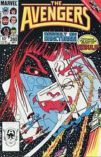 THE AVENGERS (1985) - # 260-269 SET/LOT (CAPTAIN AMERICA) !!!