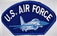 AIR FORCE - BOMBER JET - IRON OR SEW-ON PATCH