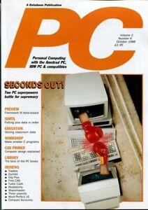 D131706 PC Plus Vintage Computer Magazine Volume 2 Nr. 6 October 1988