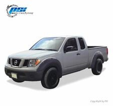 """Black Paintable Pop-Out Fender Flares 05-14 Fits Nissan Frontier 73.3"""" Styleside"""