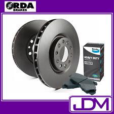 FORD RANGER PJ, PK 3.0L 2WD, 2.5L & 3.0L 4WD - RDA FRONT Rotors & BENDIX HD PADS