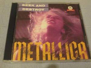 METALLICA - SEEK AND DESTROY - LIVE - CD - Metal