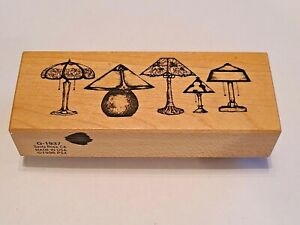 Lamp Collection Home Decor G-1937Santa Rosa Collection Rubber Stamp PSX