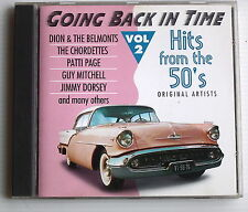 GOING BACK IN TIME . HITS FROM THE 50'S . VOL 2 . J.CASH, AVALON,P.PAGE. CD