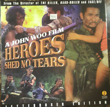 LASERDISC Heroes Shed No Tears John Woo Cantonese Tai Seng Eddy Ko 56336 1985