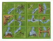 "Carcassonne Mini-Erweiterung ""Der Fluss II/2""  * original & neu *"