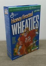 Vintage Honey Frosted Wheaties w/ Ronnie Lott 14.75 oz Full Box Factory Sealed