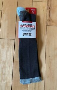 Duluth Trading Company Women's Stay-Put Performance Compression Socks Large 9-12
