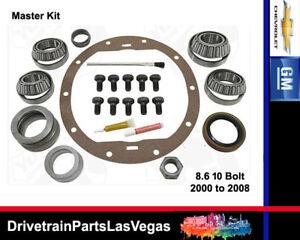 GM Chevy 8.6 10 Bolt Late Model 1999 2008 Master Bearing Rebuild Kit OE Level