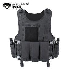 MGFLASH Gilet tactique Militaire / Armée / Airsoft - Armure veste de protection
