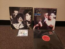 """Lisa Lisa & Cult Jam With Full Force + Cd + 2 12"""" Mix Vinyl Record Lot Free S/H"""