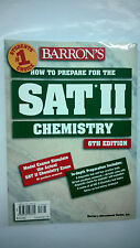 How to Prepare for the SAT II : Chemistry by Joseph A. Mascetta (1998,...