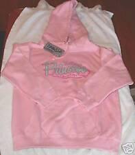 YES I AM A PRINCESS Pink Long Sleeve Hoodie LARGE Sweatshirt Christian Apparel