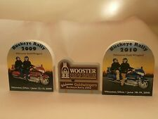 Cat's Meow Goldwingers Buckeye Rally 2002, 2009 & 2010 Wooster Oh Honda Goldwing